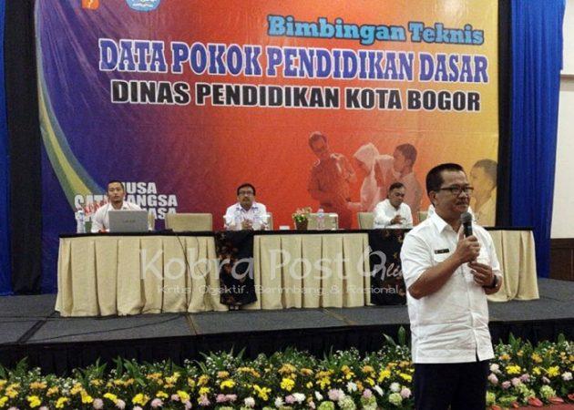 382 Operator Sekolah Kota Bogor Ikuti Bimtek Dapodikdas