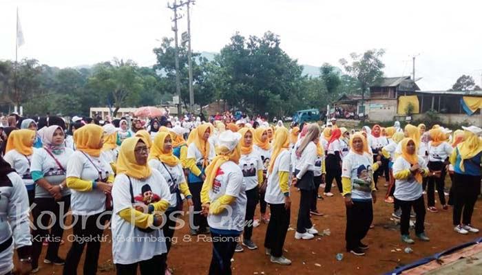 Jalan Sehat Dan Senam Bersama Relawan Prasa