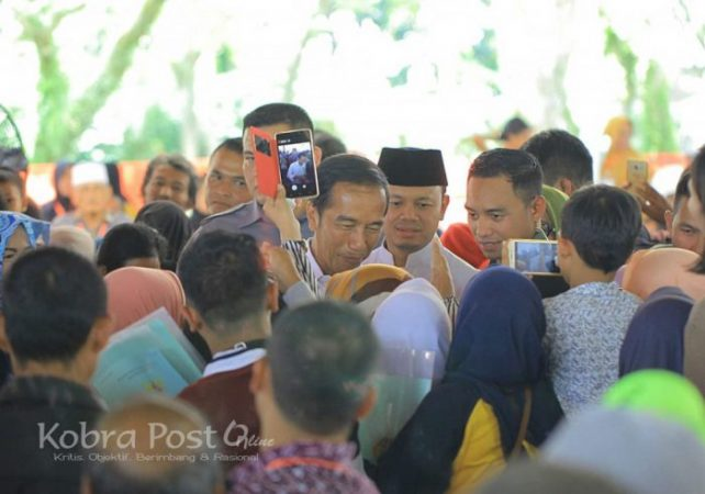 Dihadapan Presiden Jokowi, Bima Beberkan Manfaat Sertifikat Tanah