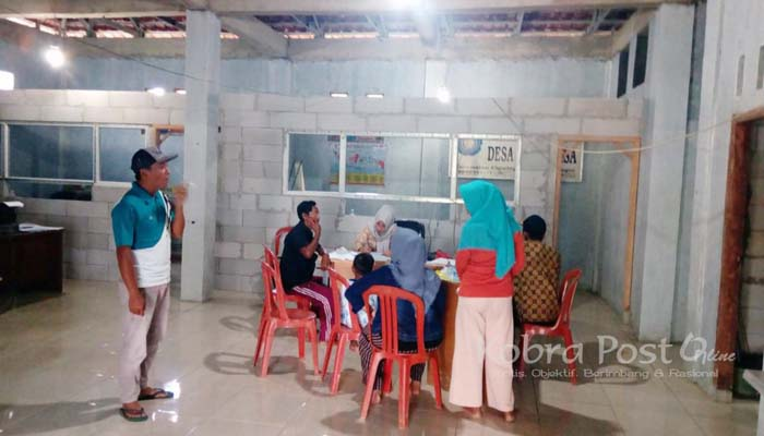 Tingkatkan Pelayanan, Desa Sukaraksa Rehab Kantor