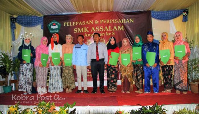 Pelepasan Siswa SMK Assalam