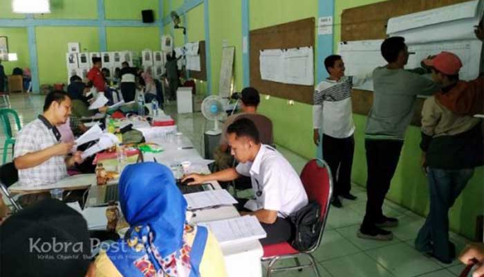 Pleno Pemilu Desa Ciherang