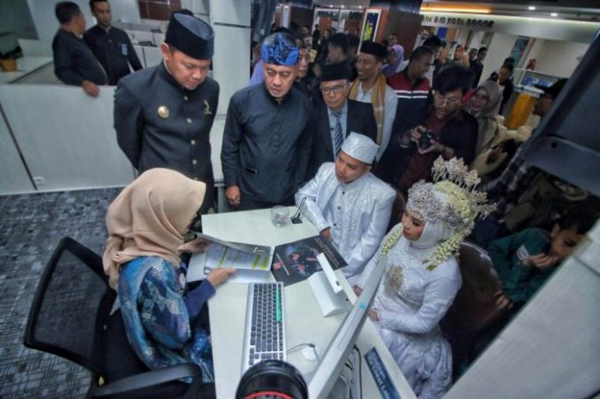 Walikota Bogor jadi saksi nikah
