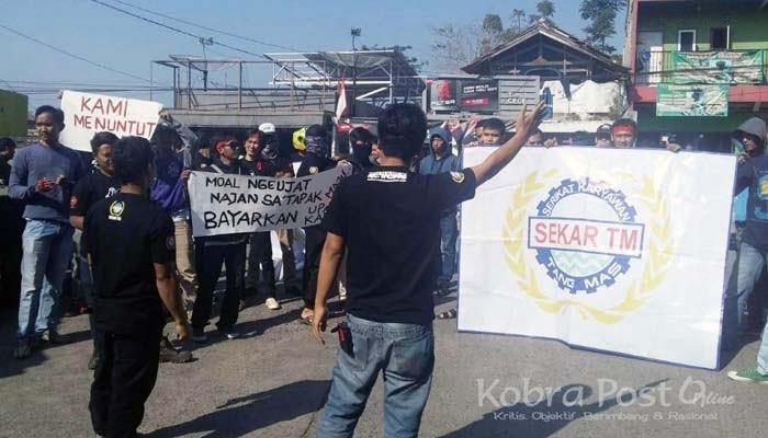Aksi Damai PT Tang MAs Cidahu