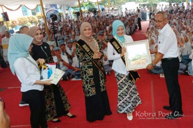 Istri Gubernur Jawa Barat Kunjungi SMK Negeri 2 Kota Bogor