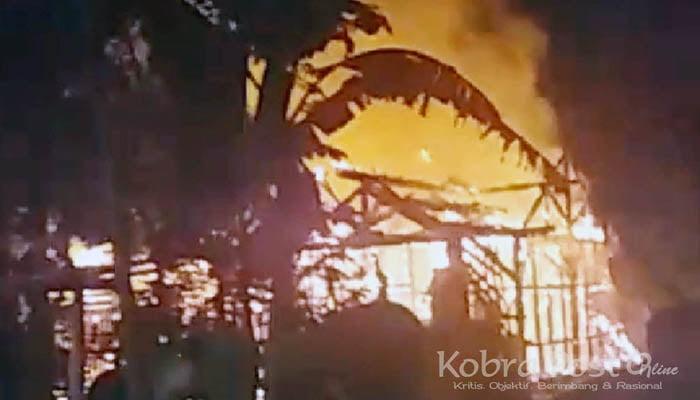 Ponpes Al Hasan Neglasari Terbakar