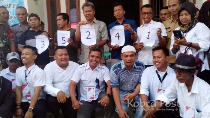 Panitia Pilkades Argapura Tetapkan Nomor Urut Calon Kades