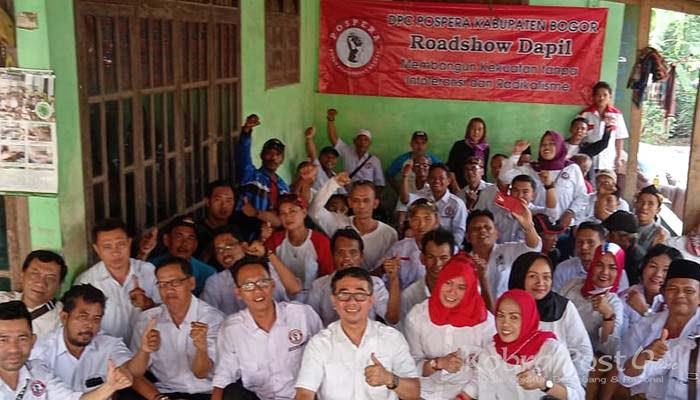 DPC Pospera Kabupaten Bogor Adakan Roadshow