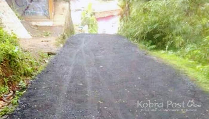 Pemerintah Desa Cidahu Lakukan Perbaikan Jalan