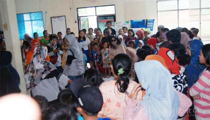 214 Jiwa Warga Desa Pangkal Jaya Mengungsi