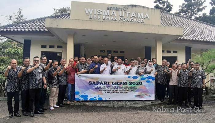 DPMPTSP Kabupaten Bogor Gelar Safari LKPM