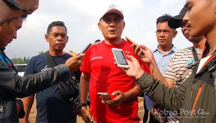 Ketua APDESI Kecamatan Leuwisadeng H. Didin Hapiduddin