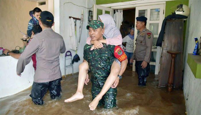 20 Kecamatan di Kabupaten Bekasi Terdampak Banjir