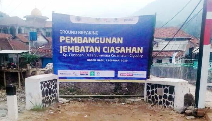 Pembangunan Jembatan Ciasahaan