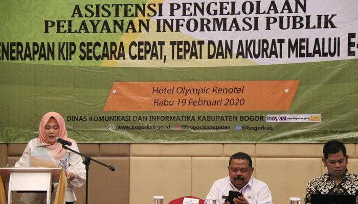 Diskominfo Kabupaten Bogor Perkuat Pelayanan Informasi Publik