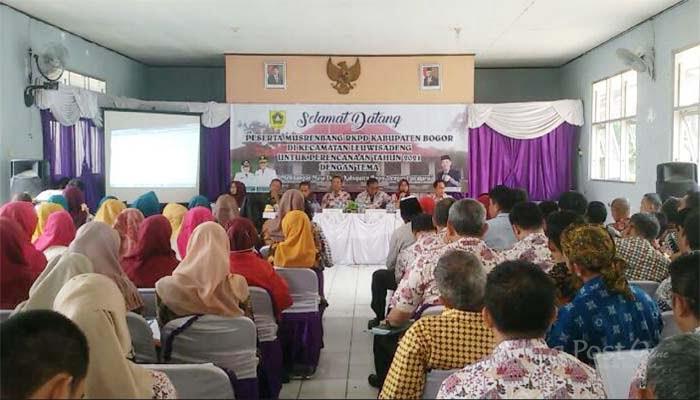 Musrenbang RKPD Kecamatan Leuwisadeng 2021