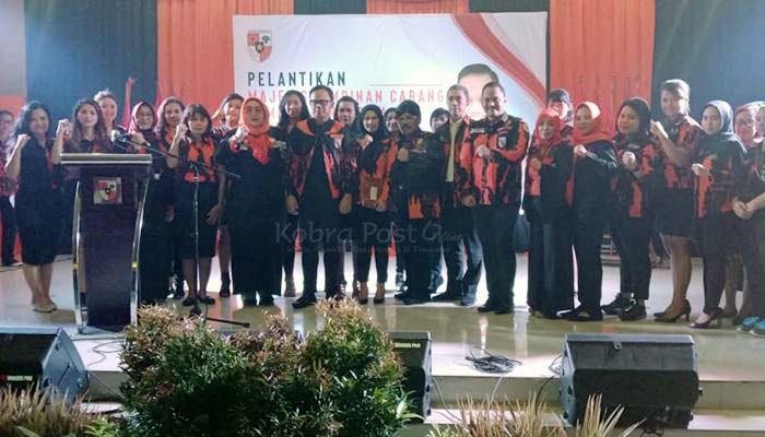 Pelantikan pengurus MPC PP Kota Bogor Masa Bhakti 2019-2023