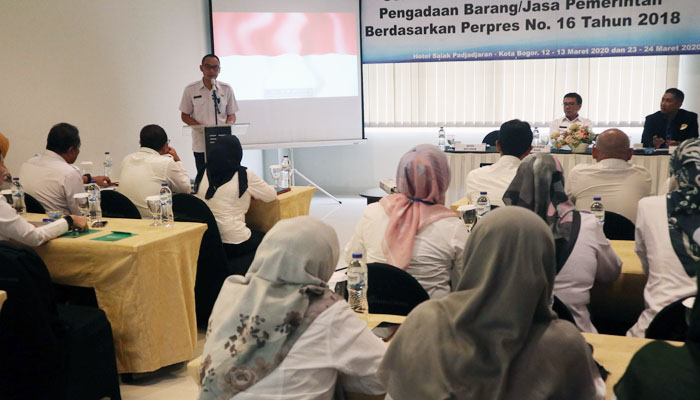 pelatihan sertifikasi Pengadaan Barang dan Jasa