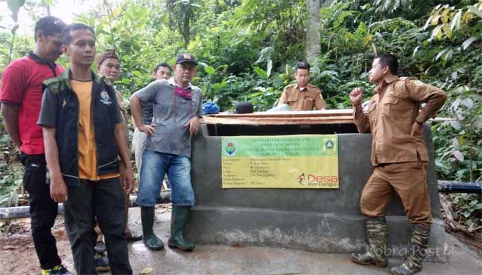 Desa Tegallega Bangun Sarana Air Bersih